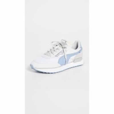 プーマ PUMA レディース スニーカー シューズ・靴 Future Rider Tones Sneakers Puma White/Forever Blue