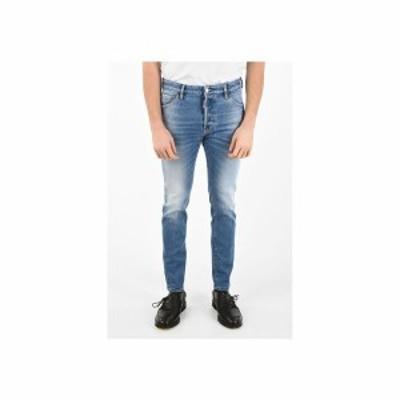 DSQUARED2/ディースクエアード Blue メンズ 16cm Denim Stretch COOL GUY Jeans dk