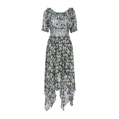 MAJE ミニワンピース&ドレス グリーン 3 シルク 97% / 金属繊維 3% ミニワンピース&ドレス