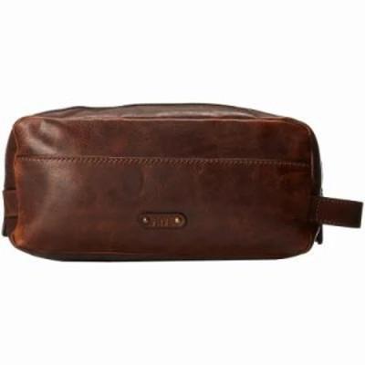 フライ その他バッグ Logan Travel Large Bag Dark Brown Antique Pull Up