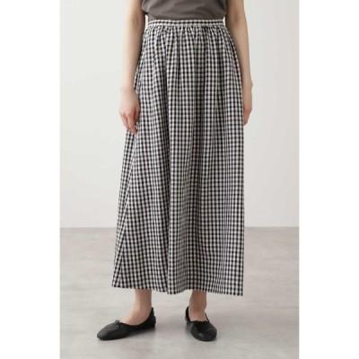 HUMAN WOMAN / ◆ギンガム・ストライプスカート