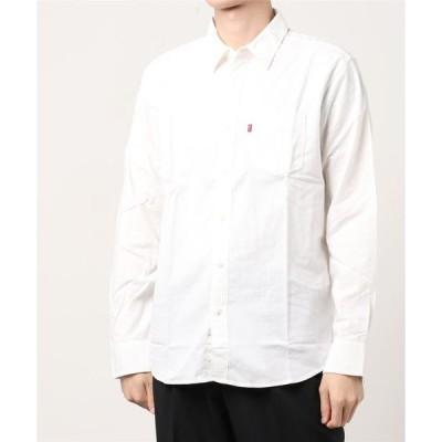 シャツ ブラウス SUNSET 1ポケットシャツ STANDARD WHITE