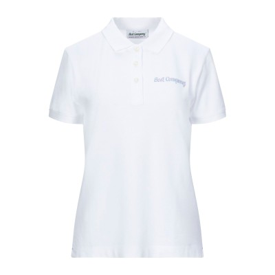 BEST COMPANY ポロシャツ ホワイト XS コットン 100% ポロシャツ