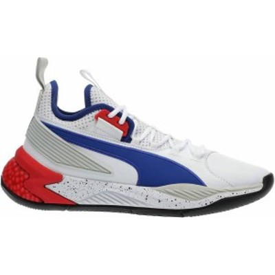プーマ レディース スニーカー シューズ PUMA Uproar Palace Guard Basketball Shoes White/Blue/Red