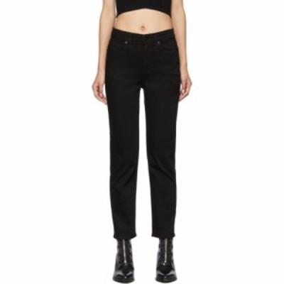 ラグandボーン rag and bone レディース ジーンズ・デニム ボトムス・パンツ black nina high-rise ankle cigarette jeans No fade black