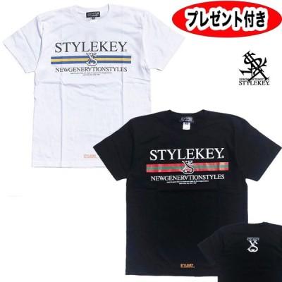 stylekey STYLEKEY スタイルキー SK18SU-SS07 LINEAGE S/S TEE メンズ  半袖Tシャツ tシャツ ハーフ ストリート