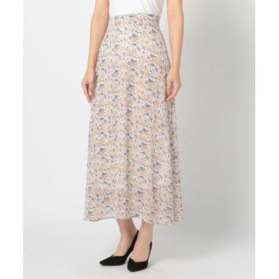 【ミューズ リファインド クローズ】 カラーフラワースカート レディース シロ M MEW'S REFINED CLOTHES