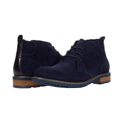 English Laundry イングリッシュランドリー メンズ 男性用 シューズ 靴 ブーツ チャッカブーツ Monty - Navy