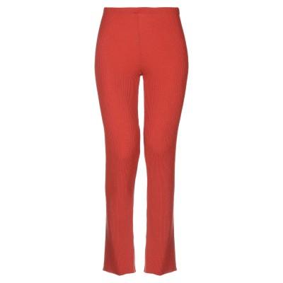 SIYU パンツ 赤茶色 38 ウール 100% パンツ