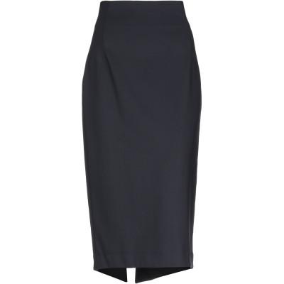 リビアナ コンティ LIVIANA CONTI 7分丈スカート ブラック 44 ナイロン 91% / ポリウレタン 9% 7分丈スカート