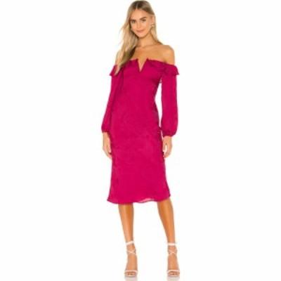 トゥラロサ Tularosa レディース ワンピース ワンピース・ドレス Shania Dress Fuchsia