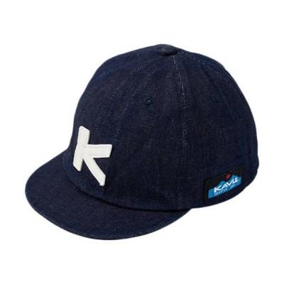 カブー(KAVU) キッズ ベースボールキャップ K's BaseBall Cap デニム 19821043042000 子供 帽子 アウトドア カジュアル アクセサリ