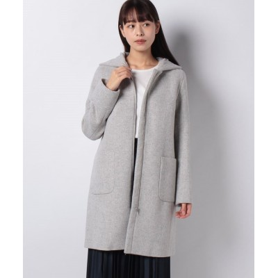 【ベーセーストック】 2WAYフードコート レディース グレー M B.C STOCK