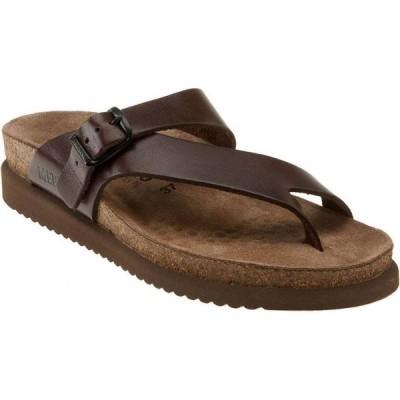 メフィスト MEPHISTO レディース サンダル・ミュール シューズ・靴 'Helen' Sandal Chestnut