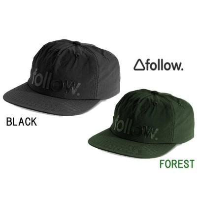 フォロー Follow 2020 メンズキャップ 在庫一掃セール 20%オフ ロゴ フォームレス キャップ LOGO FORMLESS CAP F98013