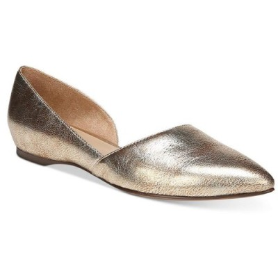 ナチュラライザー Naturalizer レディース スリッポン・フラット シューズ・靴 Samantha Flats Gold