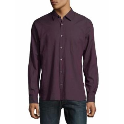 ジョンバルバトススターU.S.A. Men Clothing Slim-Fit Cotton Button-Down Shirt