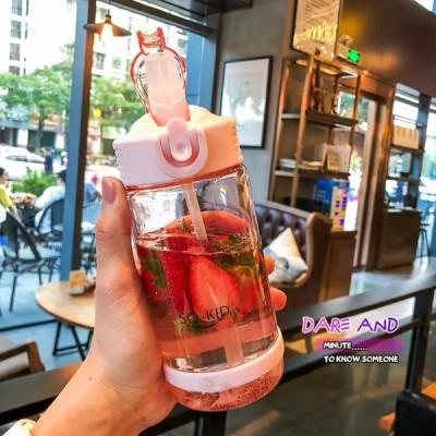 500 800ml ウォーターボトル 屋外 ウォーターボトル 健康プラスチック箸置きスポーツシェーカーキッズベビーウォーターボトル