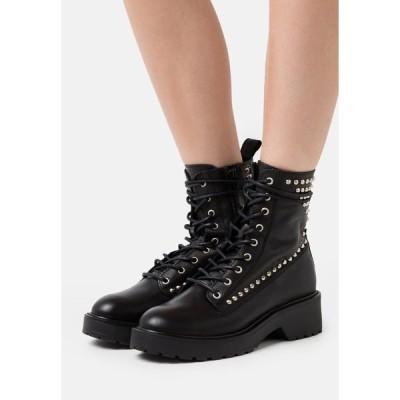 スティーブ マデン ブーツ&レインブーツ レディース シューズ TORNADO - Platform ankle boots - black