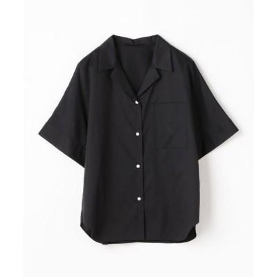 TOMORROWLAND / トゥモローランド コットンツイル オープンカラーシャツ