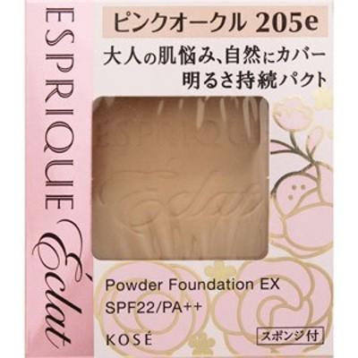 エスプリーク エクラ 明るさ持続 パクト EX ピンクオークル205e【ケース別売り】[配送区分:A]