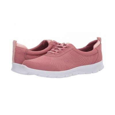Clarks クラークス レディース 女性用 シューズ 靴 スニーカー 運動靴 Step Allena Bay - Mauve Textile