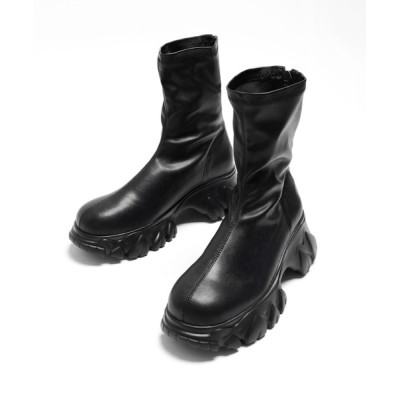 minsobi / 軽量化厚底スキンブーツ WOMEN シューズ > ブーツ