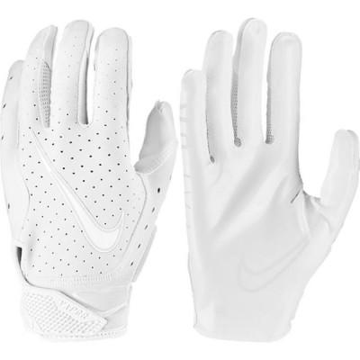 ナイキ Nike メンズ アメリカンフットボール レシーバーグローブ グローブ Adult Vapor Jet 6.0 Receiver Gloves White/White/Platinum Tint