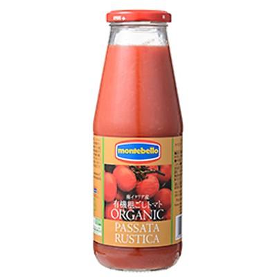 モンテベッロ 有機粗ごしトマト / 700g 世界の食材 イタリアンと洋風食材