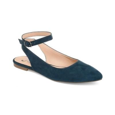 ジャーニーコレクション サンダル シューズ レディース Women's Preea Flats Blue