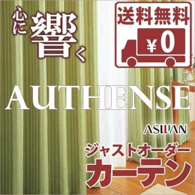 カーテン シェード アスワン オーセンス AUTHENSE ドレープ E8153〜E8155 ハイグレード縫製 約2倍ヒダ 幅75×高さ100cmまで