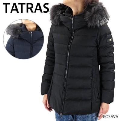 TATRAS タトラス KOSAVA コサヴァ ダウンジャケット ファー ミドル丈 レディース LTAT20A4795 ブラック 01 ダークネイビー 43 チャコールグレー 09