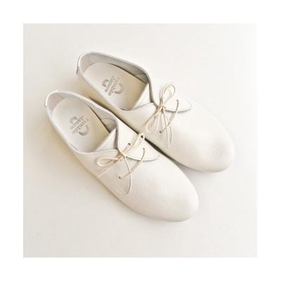 【アールエムストア】 ramble danceシュリンクレザーレースアップシューズ(White★<日本製> レディース ホワイト 23.0 RM STORE