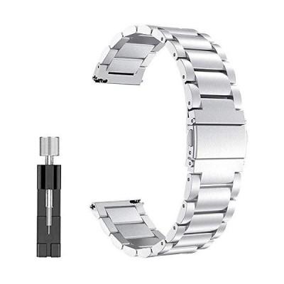 Leetoyi バンド 適応 Compatible for Sumsung Galaxy Watch Active 40mm/Galaxy Watch 42mm/Gear S2/Garmin vivoactive 3 20mmバンド ,高級腕時