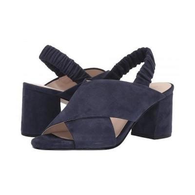 Cole Haan コールハーン レディース 女性用 シューズ 靴 ヒール 65 mm Anastasia City Sandal - Marine Blue Suede
