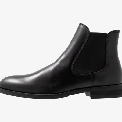 メンズ 靴 シューズ SLHLOUIS CHELSEA BOOT - Classic ankle boots - black