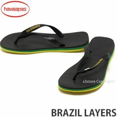 ハワイアナス BRAZIL LAYERS カラー:Black