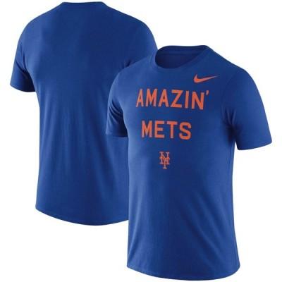 ニューヨーク・メッツ Nike MLB Amazin' Local Phrase T-シャツ - Royal