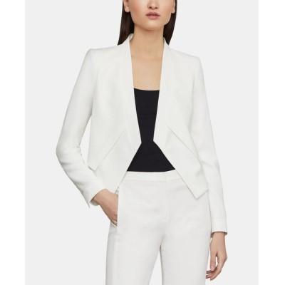 ビーシービージーマックスアズリア BCBGMAXAZRIA レディース スーツ・ジャケット アウター Open-Front Asymmetrical Jacket OFF WHITE