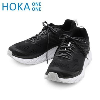 ホカオネオネ クリフトン6 スニーカー M CLIFTON 6 WIDE 1102876 BWHT HOKA ONE ONE メンズ ランニング シューズ 靴