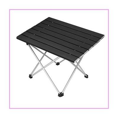 【送料無料】Folding Camping Table Portable Beach Picnic Table Collapsible Foldable Home Office Lap Desks Aluminum Lightweight Camp Tab