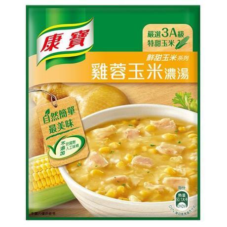 康寶濃湯-自然原味雞蓉玉米54.1G