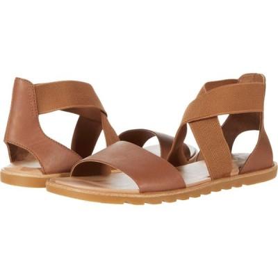 ソレル SOREL レディース サンダル・ミュール シューズ・靴 Ella(TM) II Sandal Velvet Tan