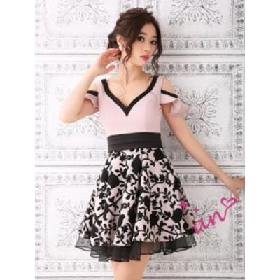 an ドレス AOC-2930 ワンピース ミニドレス Andy アン ドレス キャバクラ キャバ ドレス キャバドレス