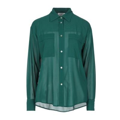バランタイン BALLANTYNE シャツ グリーン 40 シルク 92% / ポリウレタン 8% シャツ