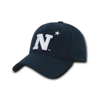 ユニセックス スポーツリーグ アメリカ大学スポーツ NCAA USNA United States Naval Academy Low Constructed Flex Acrylic Caps Hats
