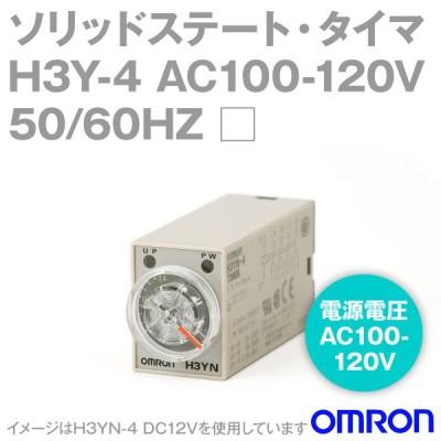 オムロン(OMRON) H3Y-4 AC100/120 □□ モノファンクションタイマ (プラグイン端子) (限時接点4c) NN