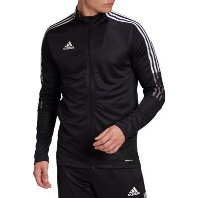 アディダス ジャケット&ブルゾン アウター メンズ adidas Men's Tiro 21 Track Jacket Black/White
