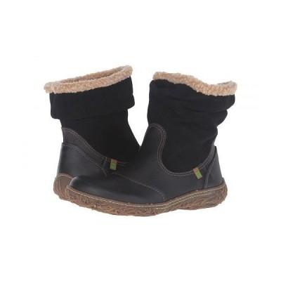 El Naturalista エルナチュラリスタ レディース 女性用 シューズ 靴 ブーツ アンクルブーツ ショート Nido N758 - Black 1