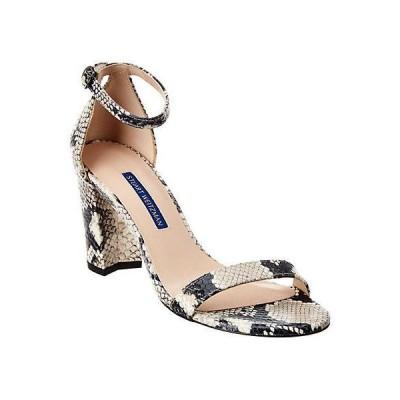レディース シューズ  Stuart Weitzman Nearlynude Leather Sandal
